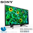 Sony 32? LCD Smart TV/馬來西亞製 KDL-32W610G (限宅配)