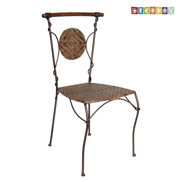DecoBox波西米亞曲木休閒椅( 藤椅,休閒椅,餐椅)