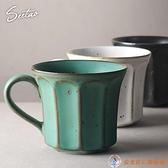 日式手工馬克杯粗陶復古咖啡杯陶瓷情侶杯藝術杯下午茶杯【公主日記】