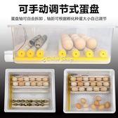 孵蛋器雞蛋孵化機全自動山雞鴨鵝鴿迷你孵化器小雞家用孵蛋器小型孵化箱  color shop220vYYP
