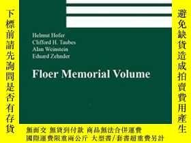 二手書博民逛書店The罕見Floer Memorial VolumeY25517