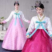 韓服女宮廷禮服表演出服裝