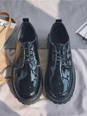皮鞋@港仔文藝男 秋季新款韓版潮流英倫鞋子低幫皮鞋學院風CHIC休閑鞋