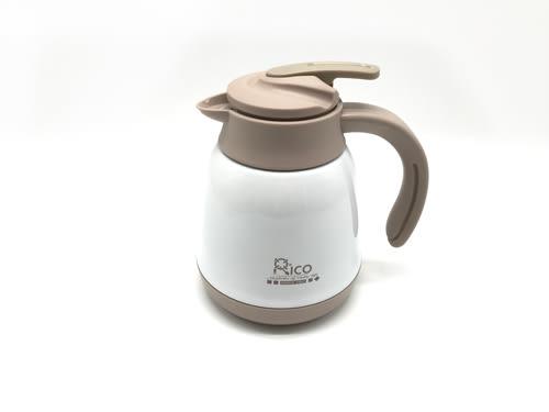 【好市吉居家生活】RICO瑞可 RC-1000 不鏽鋼真空保溫保冷咖啡壺 1L 保溫壺 熱水壺
