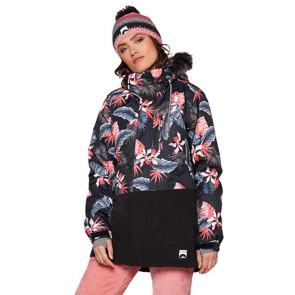 PROTEST 女 機能防水保暖外套 (頹廢色) MIXEDUP SNOWJACKET
