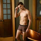 【MG-DAYNEER】時尚貼身系列-奈納鍺四角褲(咖啡棕) (未滿2件恕無法出貨,退貨需整筆退)