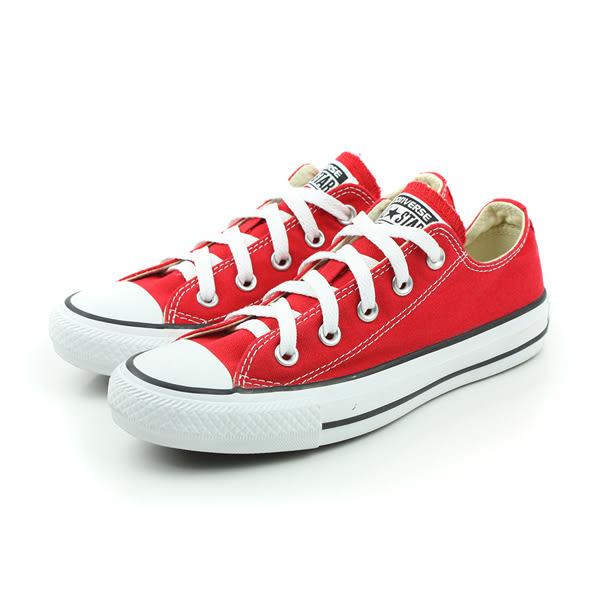 CONVERSE ALL STAR OX 帆布鞋 基本款 低筒 紅色 男女鞋 M9696C600 no918