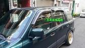 【一吉】CRV 一代 原廠款 (加寬13CM、加厚款)   晴雨窗 台灣製造(非Mazda,camry,crv,rav4,fit,focus