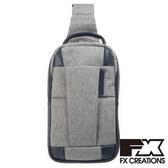 FX CREATIONS - WEA系列 - 單肩包-淺灰-WEA69735-21