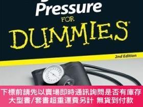 二手書博民逛書店預訂High罕見Blood Pressure For Dummies, 2Nd EditionY492923