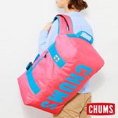 CHUMS 日本 Eco 休閒2用 後背包 波士頓包 桃紅CH602324R066
