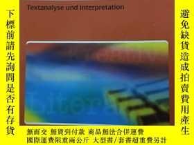 二手書博民逛書店Mentor罕見Textanalyse Und Interpretaion( Oberstufe Deutsch.