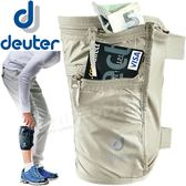 Deuter 3942316卡其 Security Legho隱藏式貼腿錢包零錢包隨身袋/防盜貼身證件包/旅遊證件防竊包