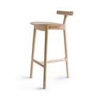義大利 Mattiazzi MC7 Radice Wooden Counter Stool T 字 木質 高腳椅(黑色梣木)