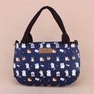 雨朵防水包 M445-031 小美2用包-深藍貓貓的聚會13295