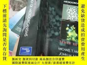 二手書博民逛書店BROCK罕見BIOLOGY OF MICROOGANISMSY
