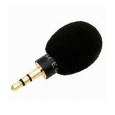 耀您館|韓國製EDUTIGE超小型電容式全指向性麥克風ETM-001含防風罩TRS高靈敏3.5mm收音mic