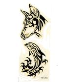 薇嘉雅 犬紋身貼紙L042