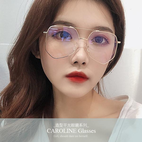 《Caroline》年度最新款造型時尚純淨,獨特平光眼鏡 71998