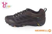 Merrell Moab FST 男款戶外登山鞋 真皮 Gore-Tex 防水 黃金大底 抗菌防臭 越野休閒鞋G8335#棕色 奧森童鞋