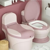 大號兒童坐便器女孩寶寶小馬桶嬰兒幼兒小孩廁所尿桶男孩便盆尿盆 PA14901『棉花糖伊人』