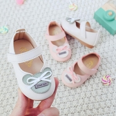 防滑單鞋學步鞋 嬰兒軟底6-12個月寶寶公主鞋Mandyc