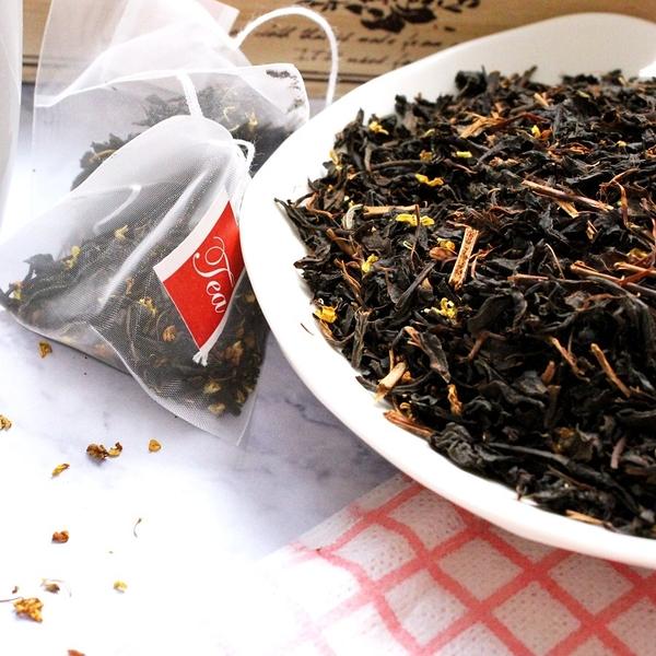 桂花紅茶包 1包(20入) 茶包 袋茶 另有桂花紅茶散茶葉 【正心堂】