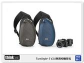 出清價~ thinkTank 創意坦克 TurnStyle 5 V2.0 斜背/腰包 相機背包 TS457 TTP457 藍色