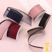 發飾發夾手工DIY材料鮮花禮品包裝絲帶緞帶【南風小舖】