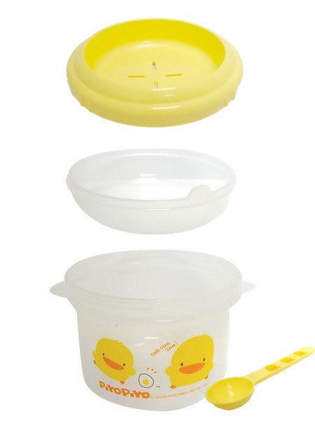 【奇買親子購物網】黃色小鴨稀飯調理盒(微波爐專用)