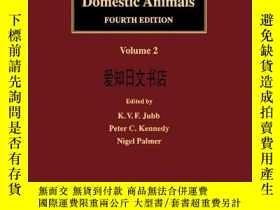 二手書博民逛書店【罕見】Pathology of Domestic Animals (Volume 2)Y175576 Jub