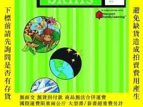 二手書博民逛書店英文原版罕見Flash Kids 拼讀技能:4年級 Spelling Skills: Grade 4 (Flash