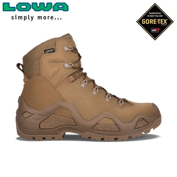【LOWA 德國 男 Z-6S GTX 中筒輕量多功能軍用鞋《土狼深棕》】LW310668/軍靴/戰鬥靴/中筒軍用鞋/登山鞋