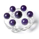 紫水晶七星陣擺件