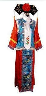 影樓古裝 格格裝 小燕子 清朝服飾  民族