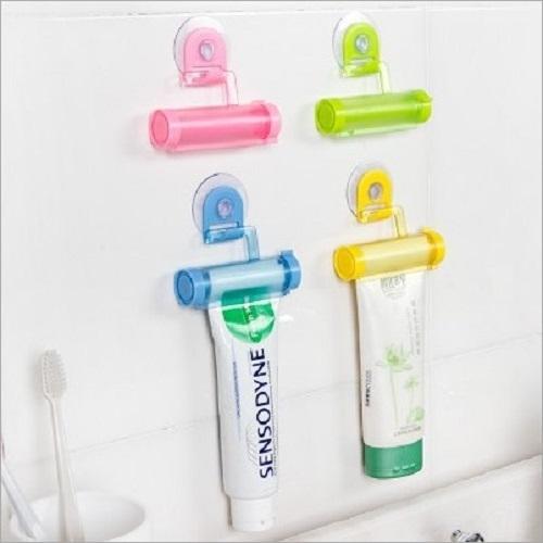 【現貨供應】懶人吸盤式手動擠牙膏夾【G00042】