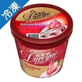 杜老爺SUPER草莓冰淇淋672±15g/桶【愛買冷凍】