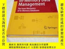 二手書博民逛書店A罕見Course in In-Memory Data Mana