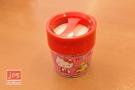 Hello Kitty 凱蒂貓 磁性雙格迴紋針盒 玩具 桃 964777