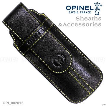 [好也戶外]OPINEL Chic Black時尚皮革套(黑色) NO.OPI002012