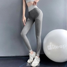 健身褲瑜伽服女高腰提臀緊身收腹速干跑步運動套裝衣夏季薄款外穿 快速出貨