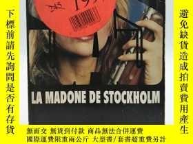 二手書博民逛書店SAS罕見86: La madone de Stockholm 法文原版-《SAS 86:斯德哥爾摩聖母》Y2