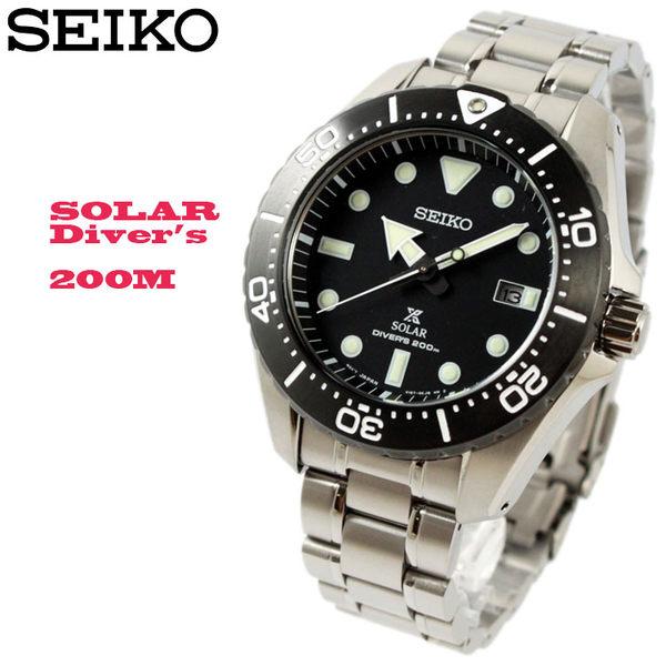 [萬年鐘錶]  SEIKO   PROSPEX DIVER  太陽能 鈦金屬 防水200米潛水錶  可鎖式錶冠 SBDJ013J(V157-0BN0D)