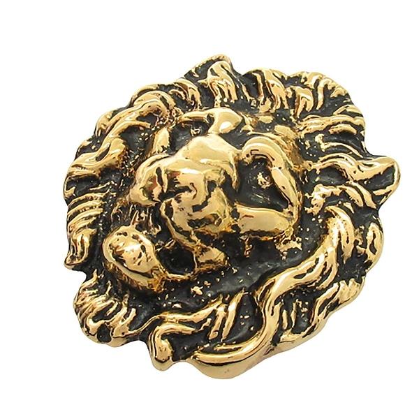 SAINT LAURENT YSL 聖羅蘭 獅子造型金屬胸針 Lion Brooch【二手名牌BRAND OFF】