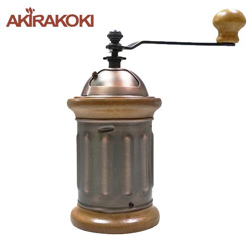 金時代書香咖啡 AKIRA 正晃行 手搖磨豆機-郵筒 金屬機身 A-3