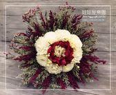 娃娃屋樂園~索拉之戀系列【No.21】時尚鄉村風乾燥花新娘捧花 每束1600元/情人節花束/成果展送花