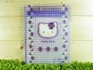 【震撼精品百貨】Hello Kitty 凱蒂貓~便條附夾~紫【共1款】