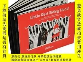 二手書博民逛書店英文原版罕見Little Red Riding Hood 小紅帽