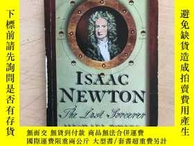 二手書博民逛書店Isaac罕見Newton: The Last Sorcerer