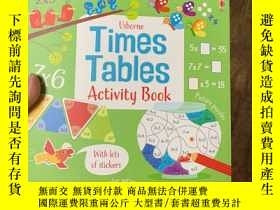 二手書博民逛書店Times罕見Tables Activity BookY236663 Usborne Publishing L